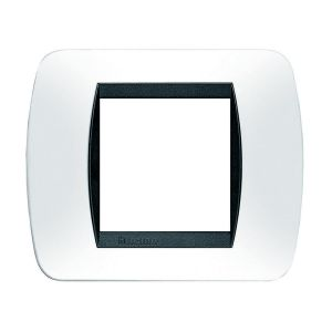 PLACCA LIVING INTERNATIONAL 2 POSTI BIANCO