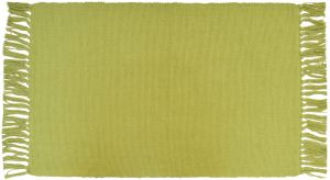 TAPPETINO BASIC 50X80 CM COTONE VERDE LIME