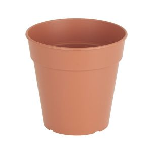 VASO IN PLASTICA MADAGASCAR DIAMETRO 11XH10 CM COTTO
