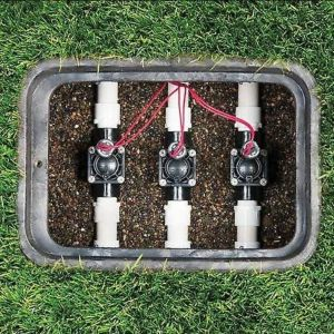 ELECTROVALVOLA PER IRRIGAIZONE INTERRATA 24V ATTACCO FEMMINA 26X34 X 26X34 HUNTER